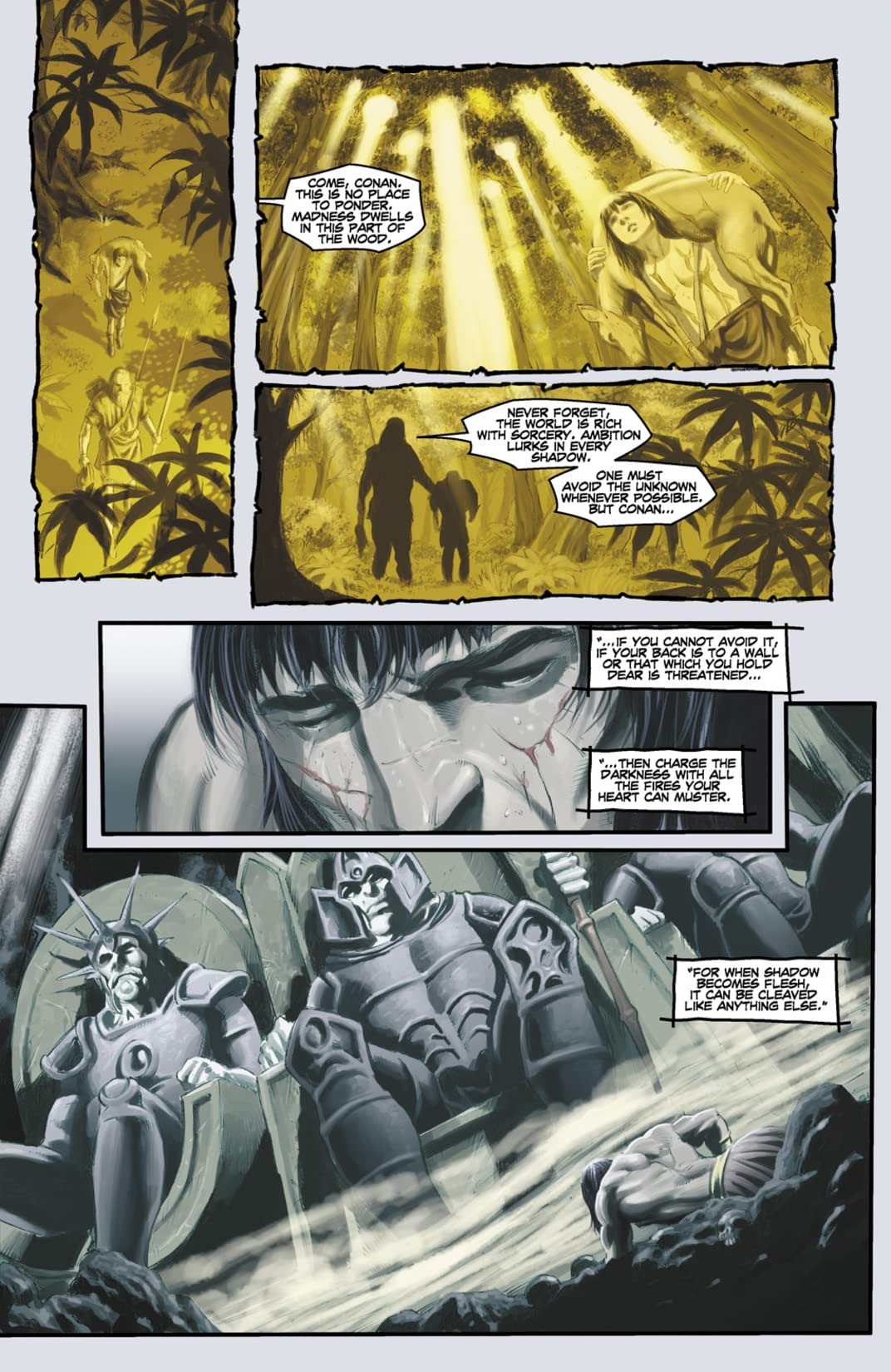 Conan and the Midnight God #5