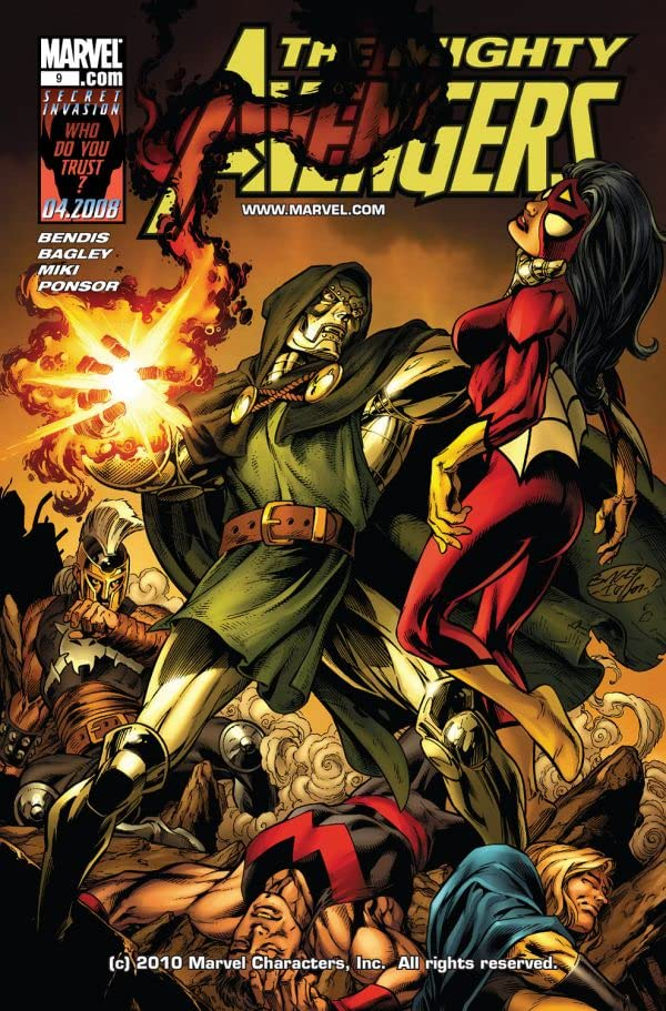 Mighty Avengers (2007-2010) #9