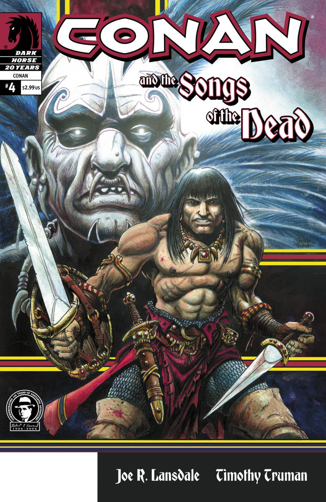 Conan and the Songs of the Dead #4