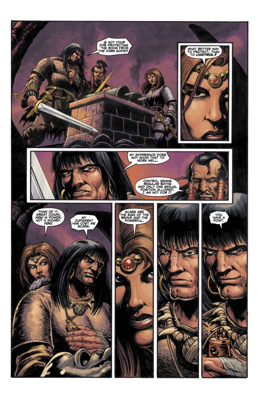 Conan and the Songs of the Dead #5