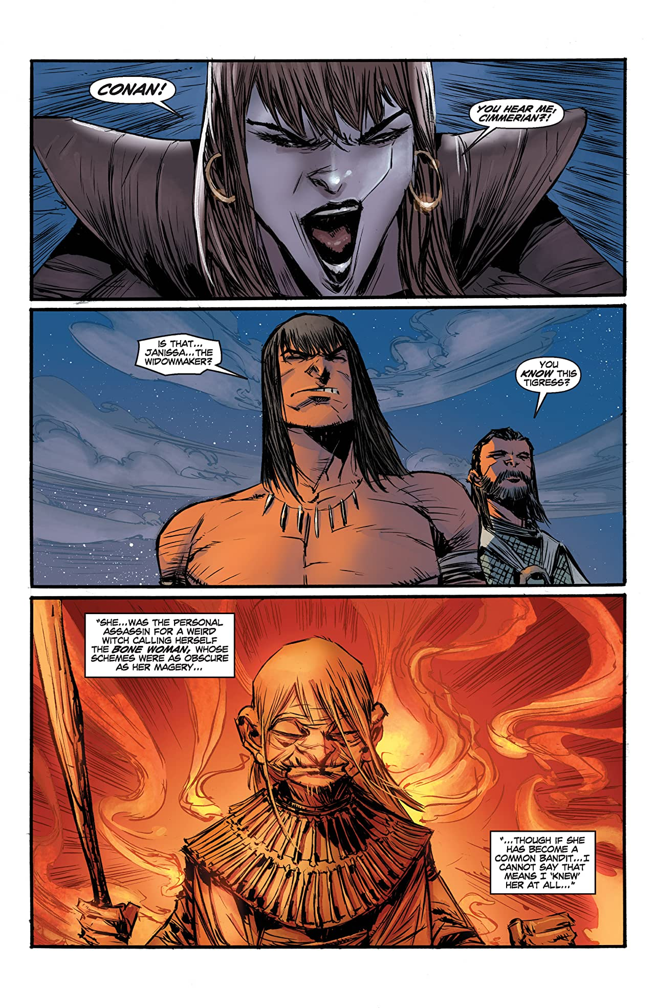 Conan the Avenger #18