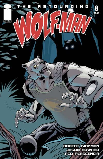 The Astounding Wolf-Man #8