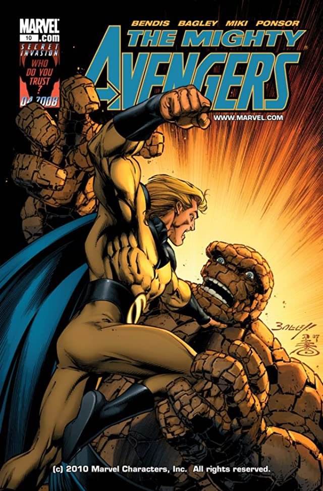 Mighty Avengers (2007-2010) #10