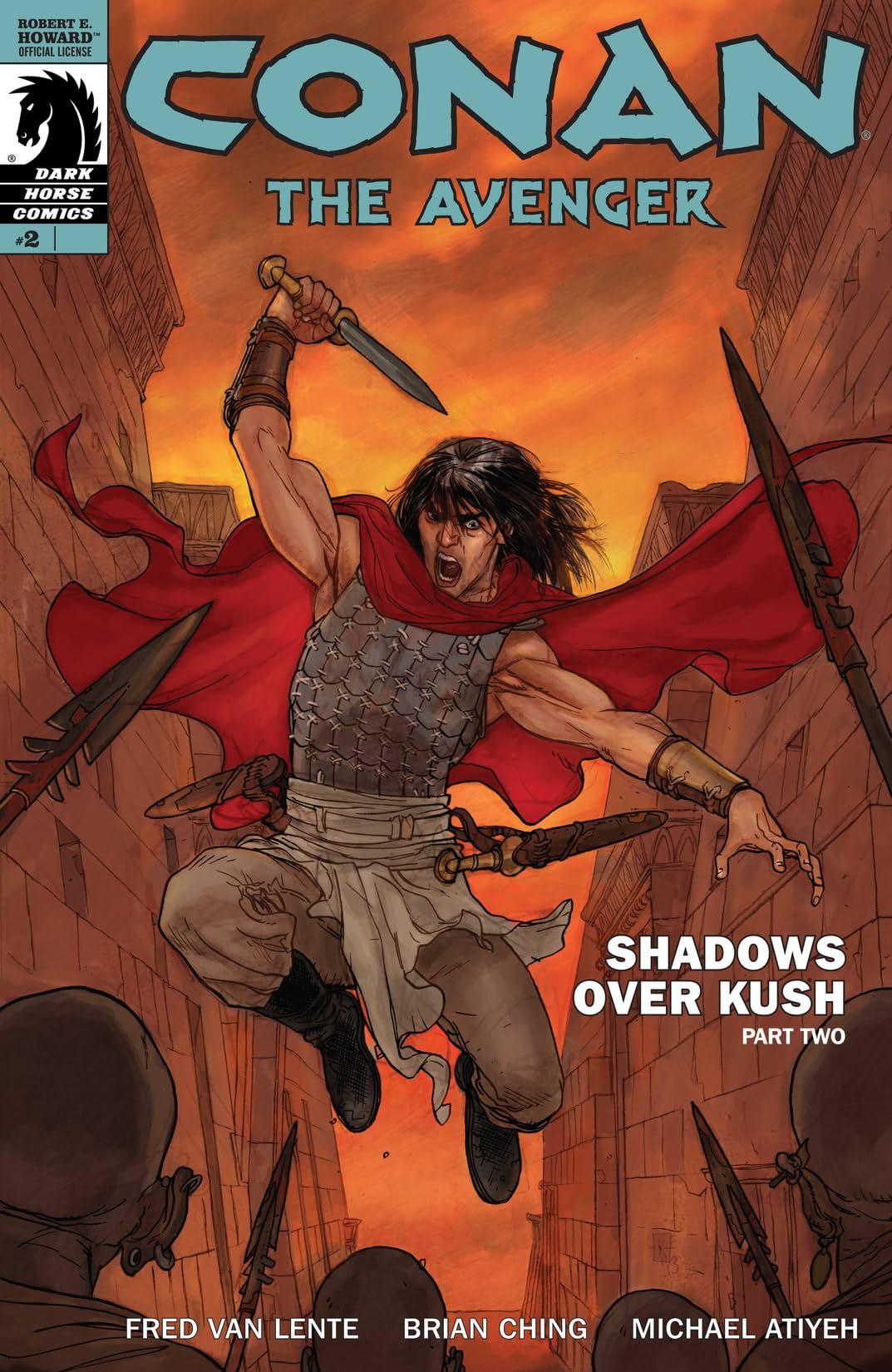 Conan the Avenger #2