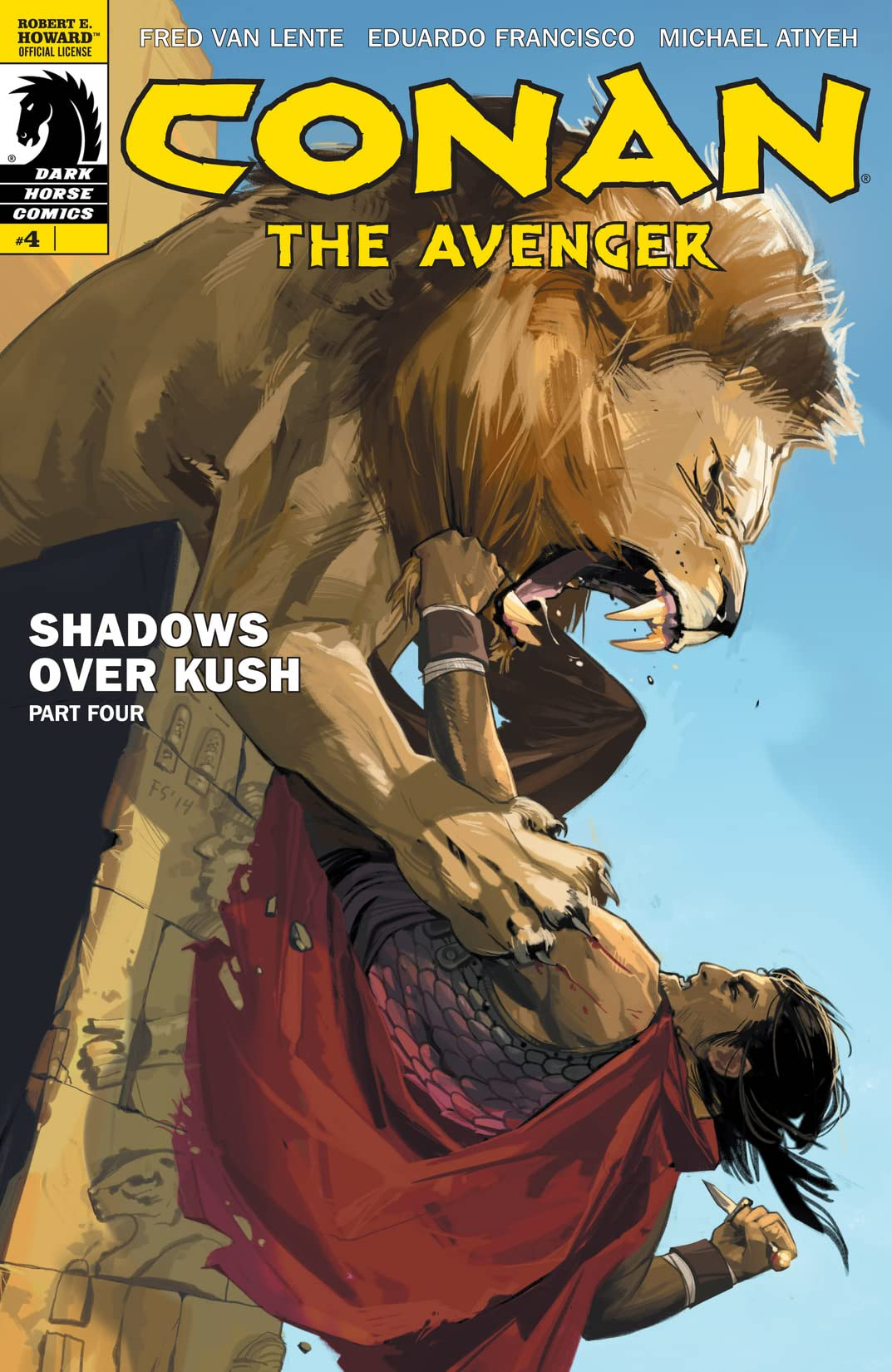Conan the Avenger #4
