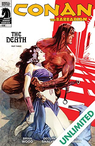 Conan the Barbarian #12