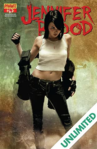 Garth Ennis' Jennifer Blood #14