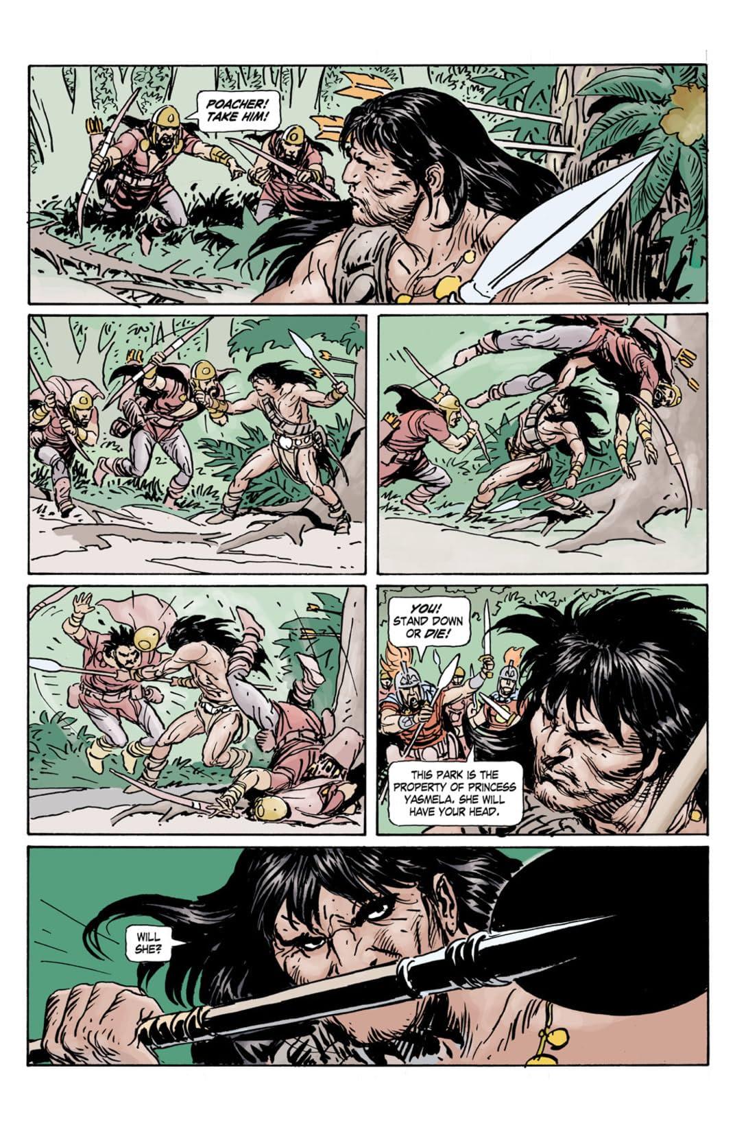 Conan the Cimmerian #14