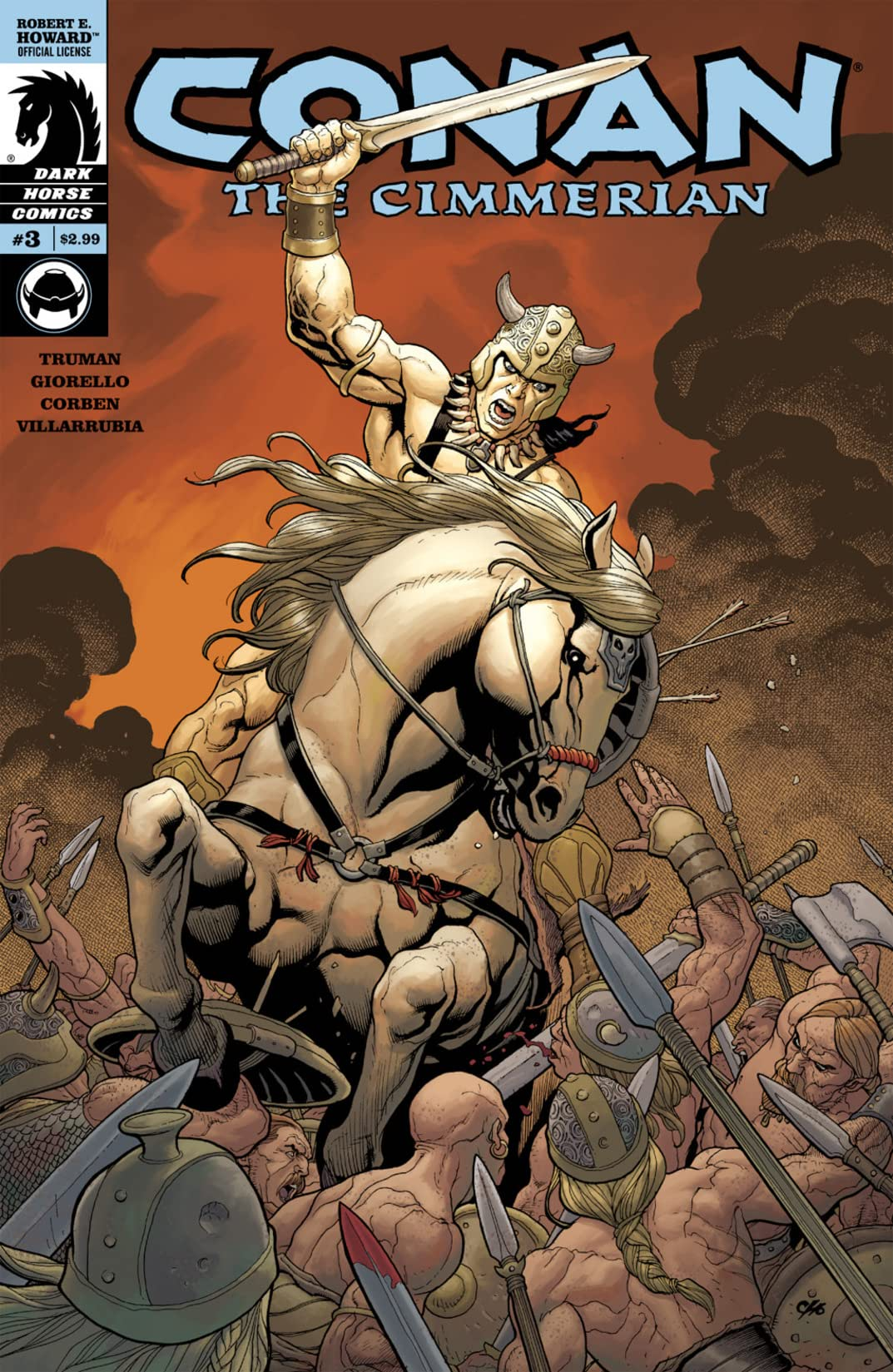 Conan the Cimmerian #3