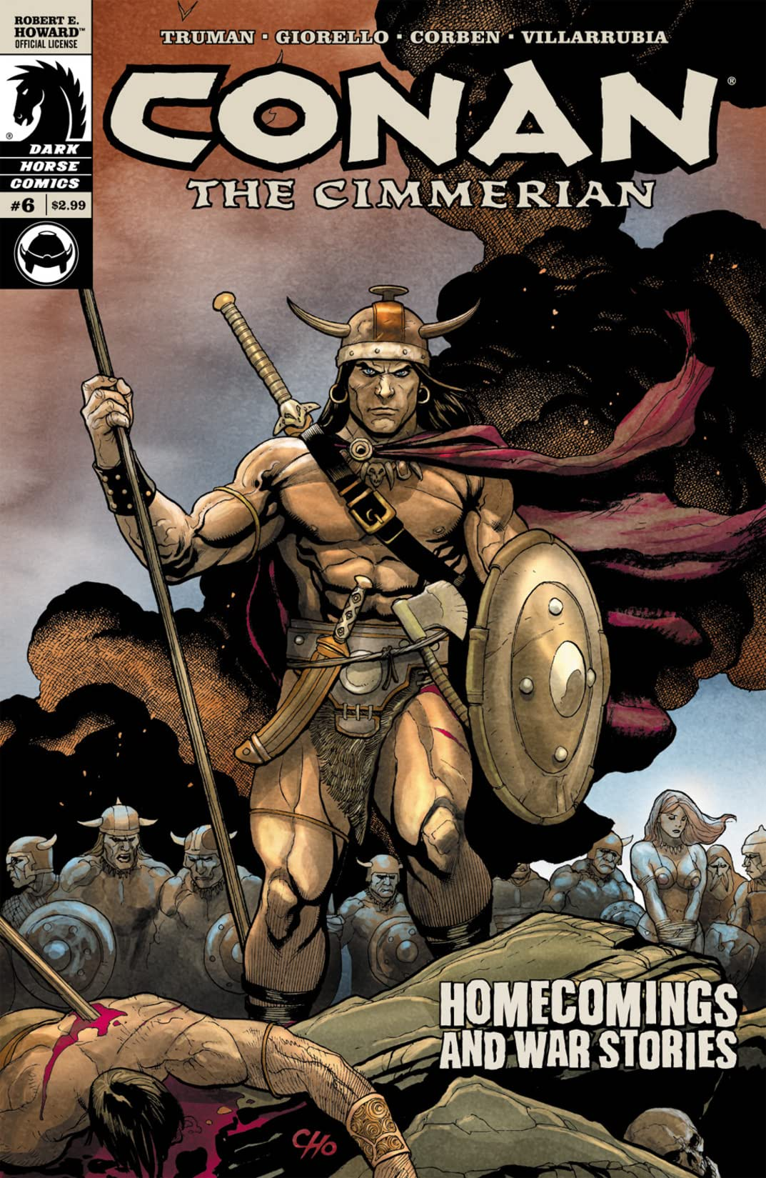 Conan the Cimmerian #6