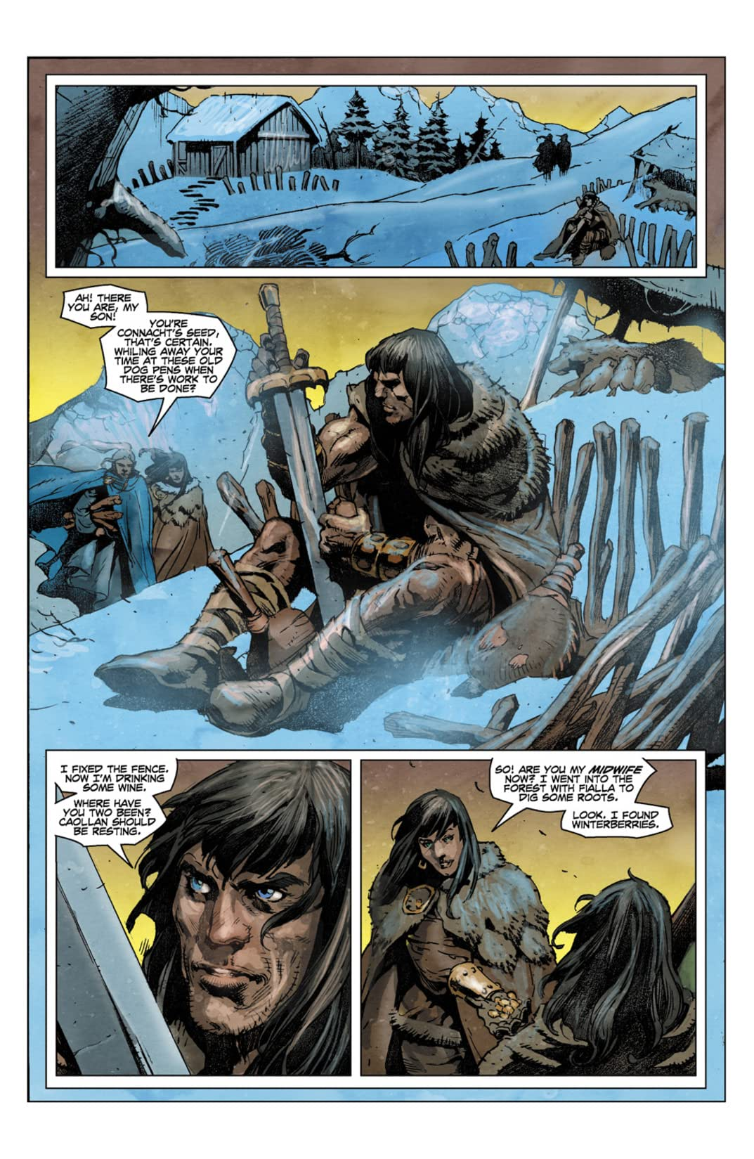 Conan the Cimmerian #7