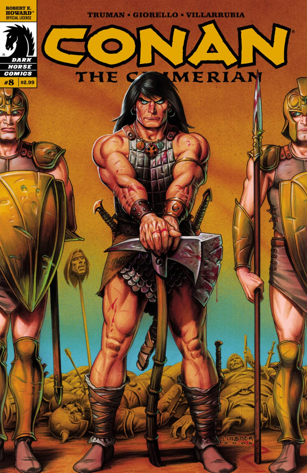 Conan the Cimmerian #8
