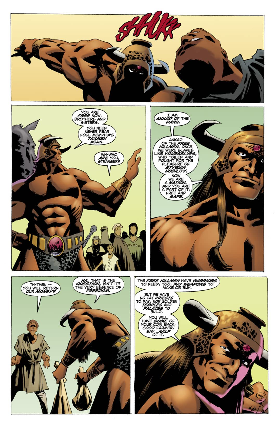 Conan: Book of Thoth #3