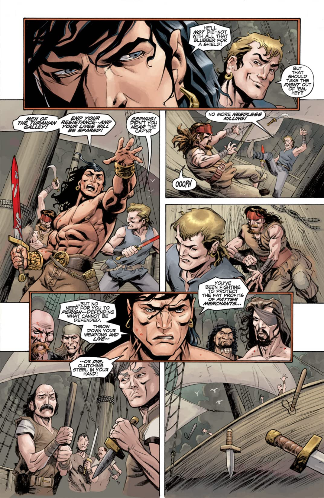 Conan: Road of Kings #1