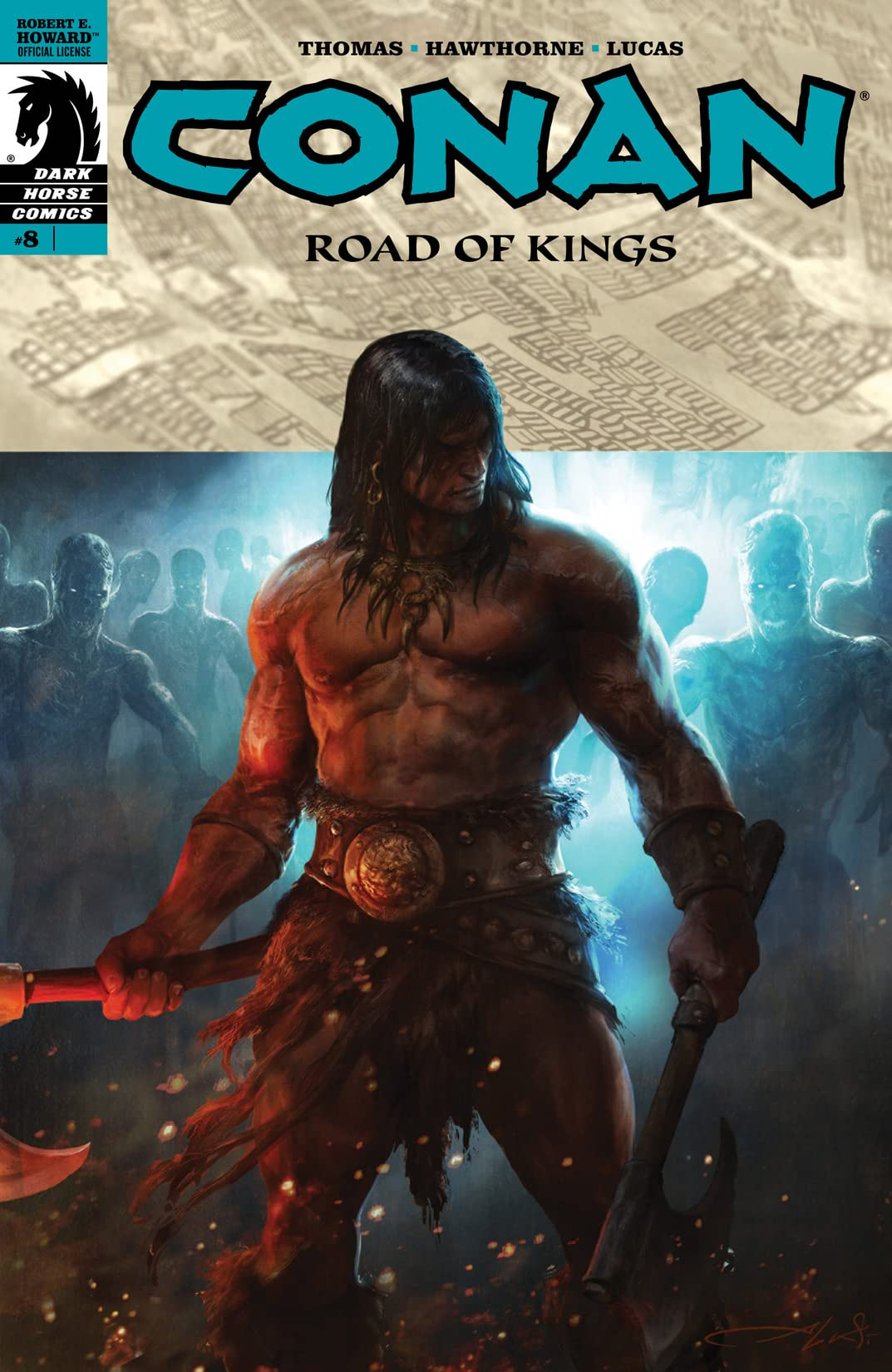 Conan: Road of Kings #8