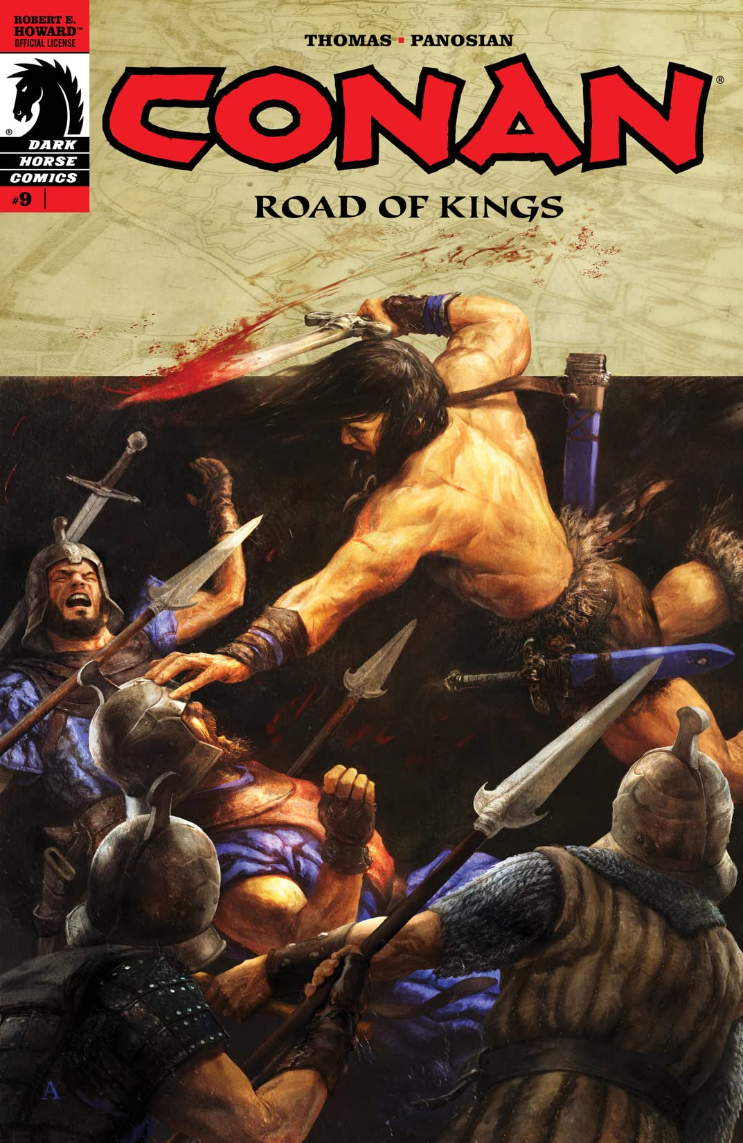 Conan: Road of Kings #9