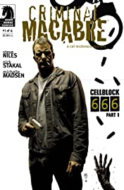 Criminal Macabre: Cell Block 666 #1