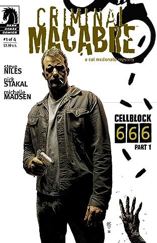 Criminal Macabre: Cell Block 666 #1