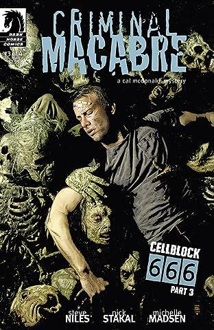 Criminal Macabre: Cell Block 666 #3