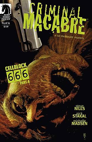 Criminal Macabre: Cell Block 666 #4