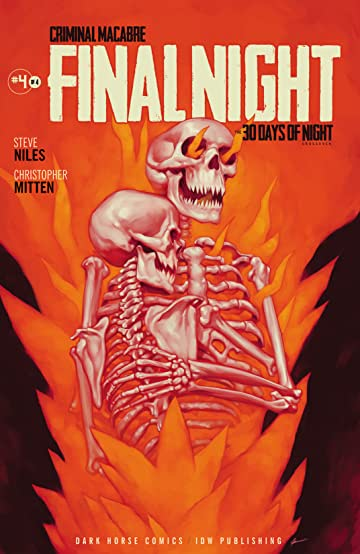 Criminal Macabre: Final Night - The 30 Days of Night Crossover #4