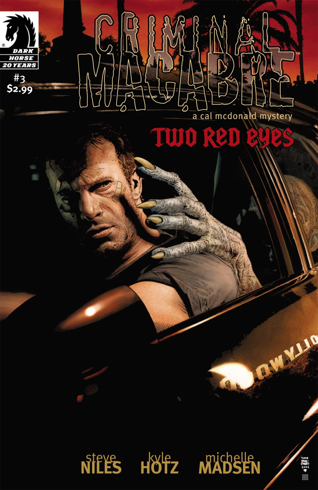 Criminal Macabre: Two Red Eyes #3