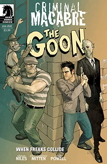 Criminal Macabre/The Goon: When Freaks Collide #2