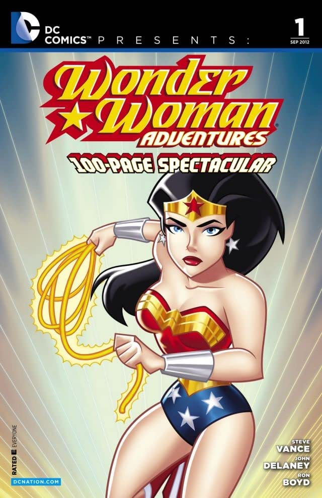 DC Comics Presents: Wonder Woman Adventures #1