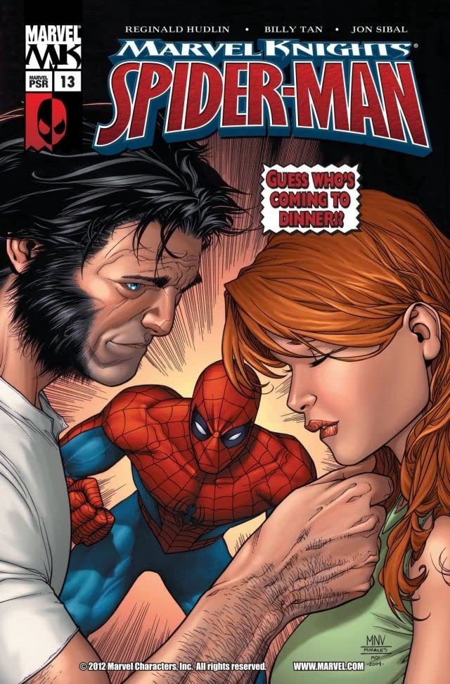 Marvel Knights Spider-Man (2004-2006) #13