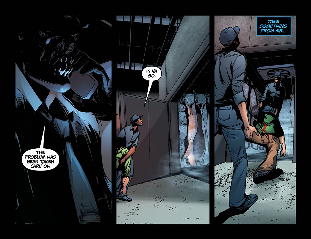 Batman: Arkham Unhinged #35