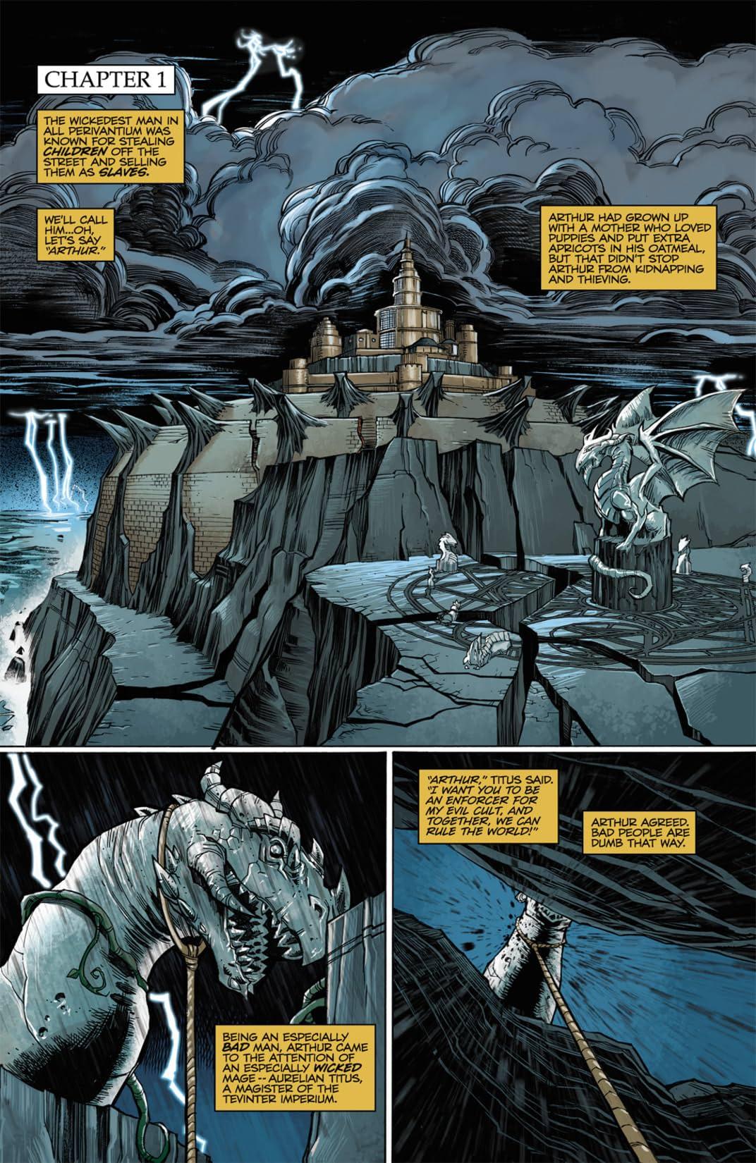 Dragon Age: Until We Sleep #1