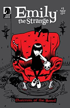 Emily the Strange #1: The Boring Issue