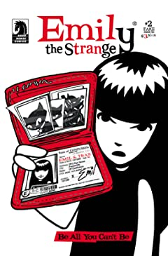 Emily the Strange #2: The Fake Issue
