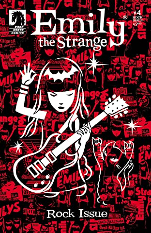 Emily the Strange No.4: The Rock Issue