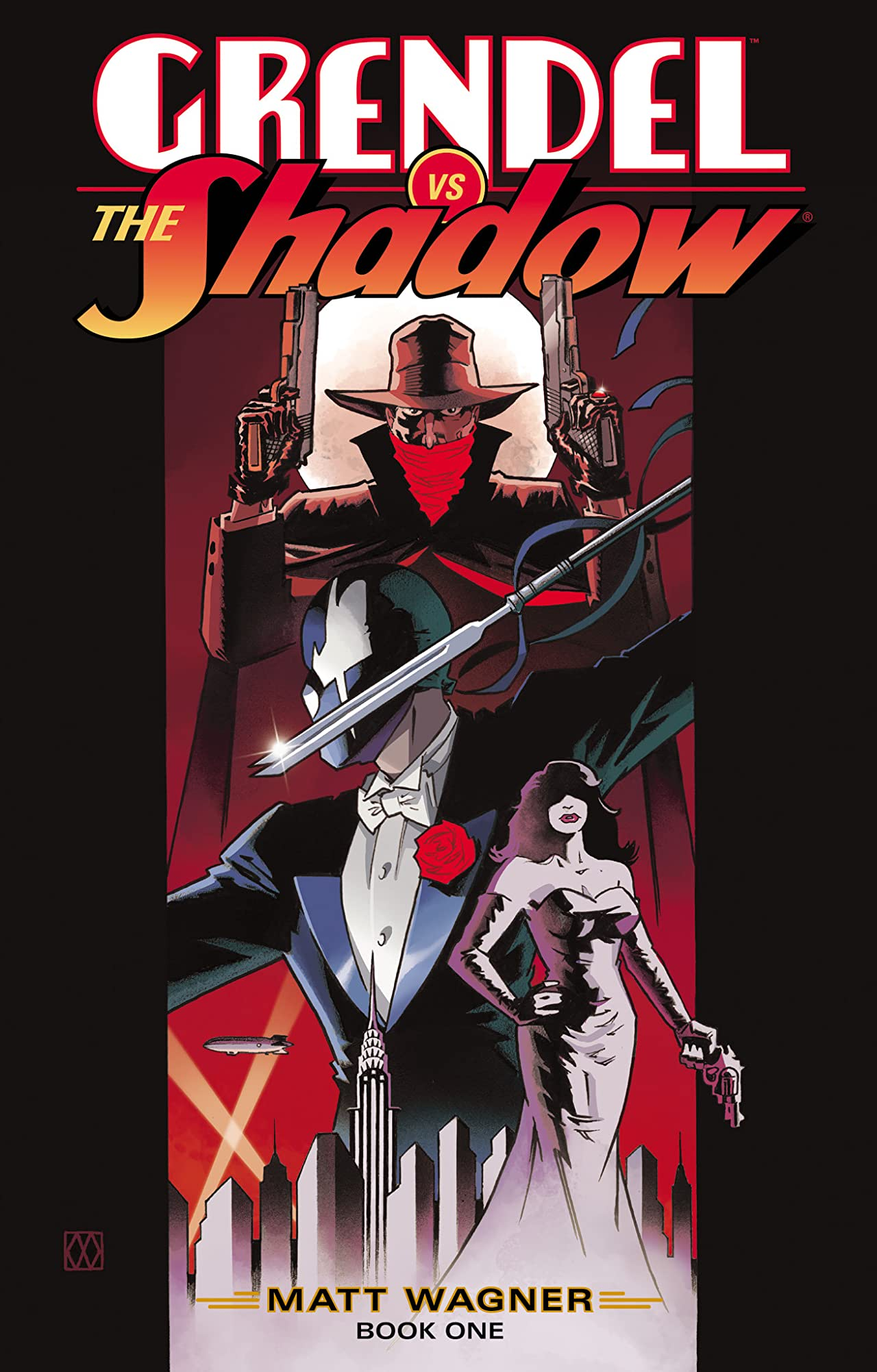 Grendel vs. The Shadow #1