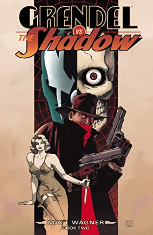 Grendel vs. The Shadow #2