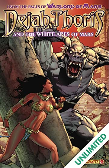 Dejah Thoris and the White Apes of Mars #4