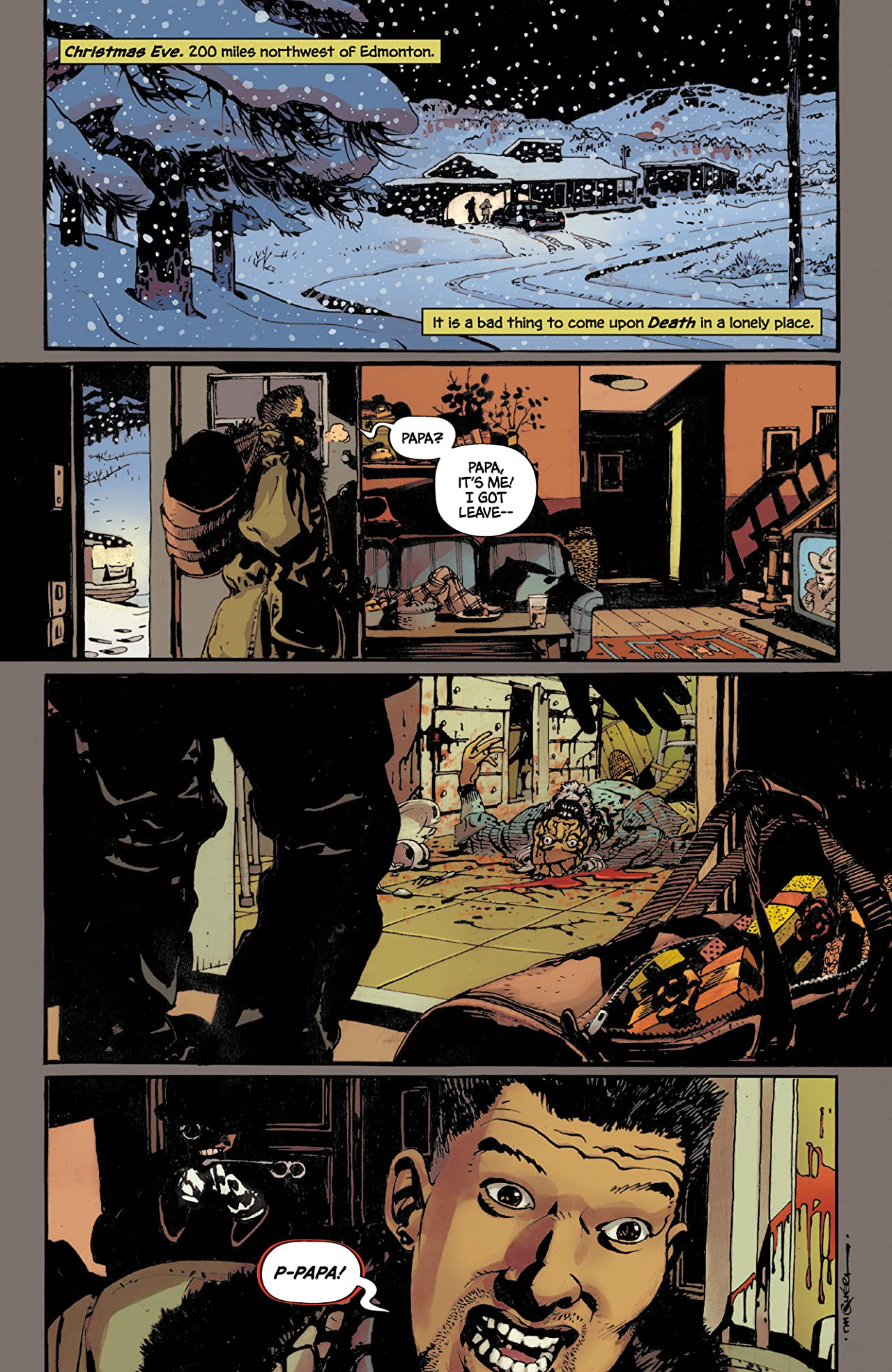 Grindhouse: Drive In, Bleed Out #1