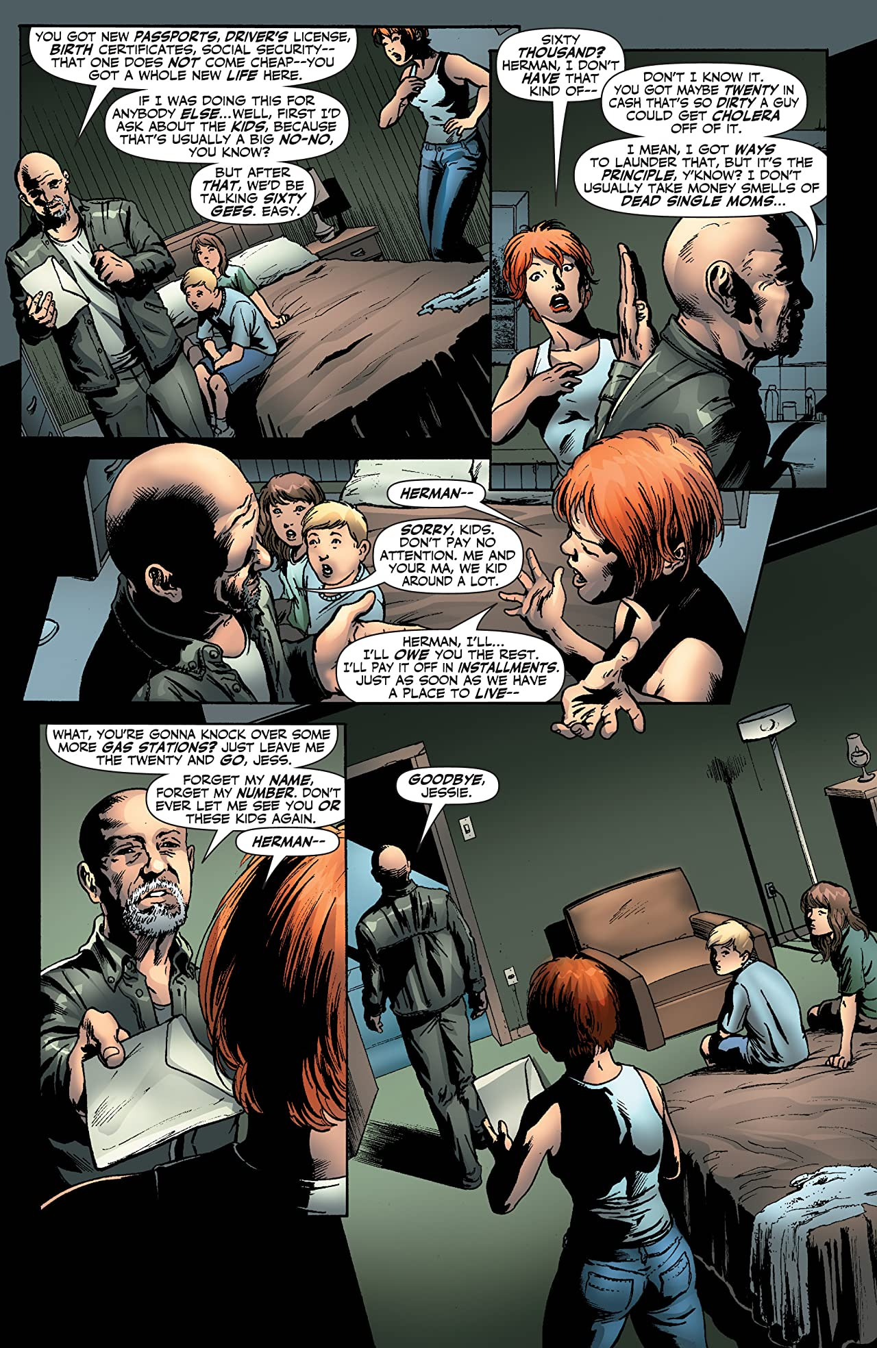 Garth Ennis' Jennifer Blood #19
