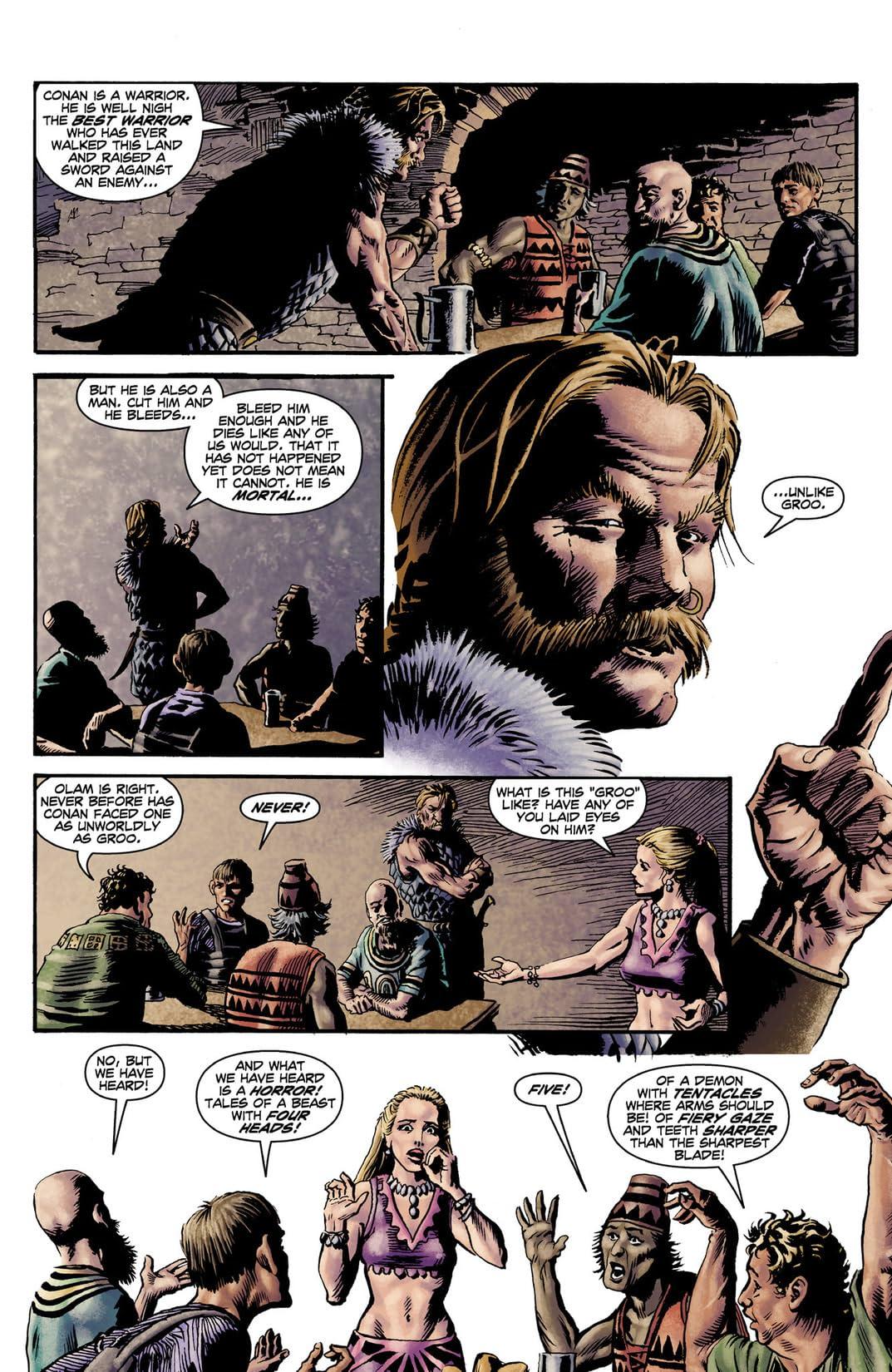 Groo vs. Conan #3