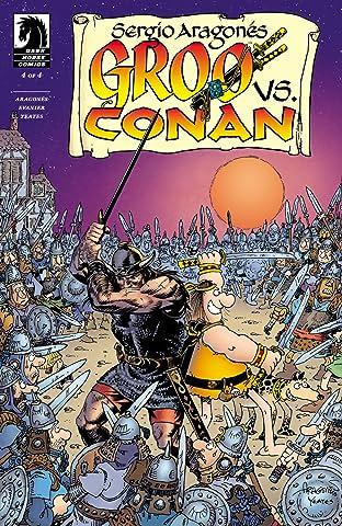 Groo vs. Conan #4