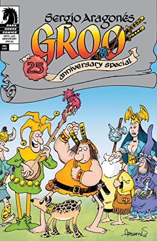 Groo: 25th Anniversary Special #1
