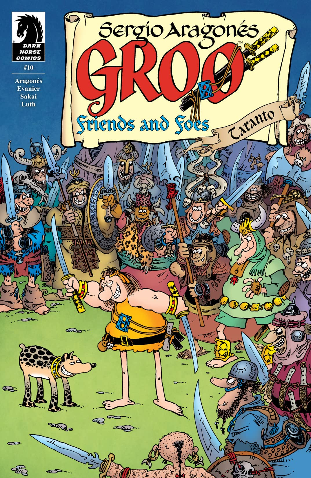Groo: Friends and Foes #10