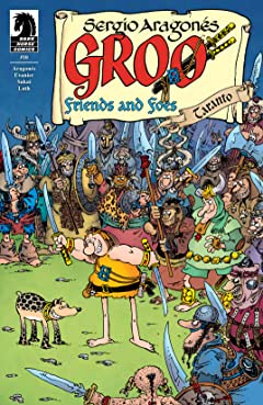 Groo: Friends and Foes No.10