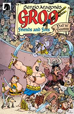 Groo: Friends and Foes No.9
