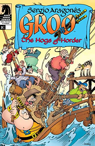 Groo: The Hogs of Horder #2