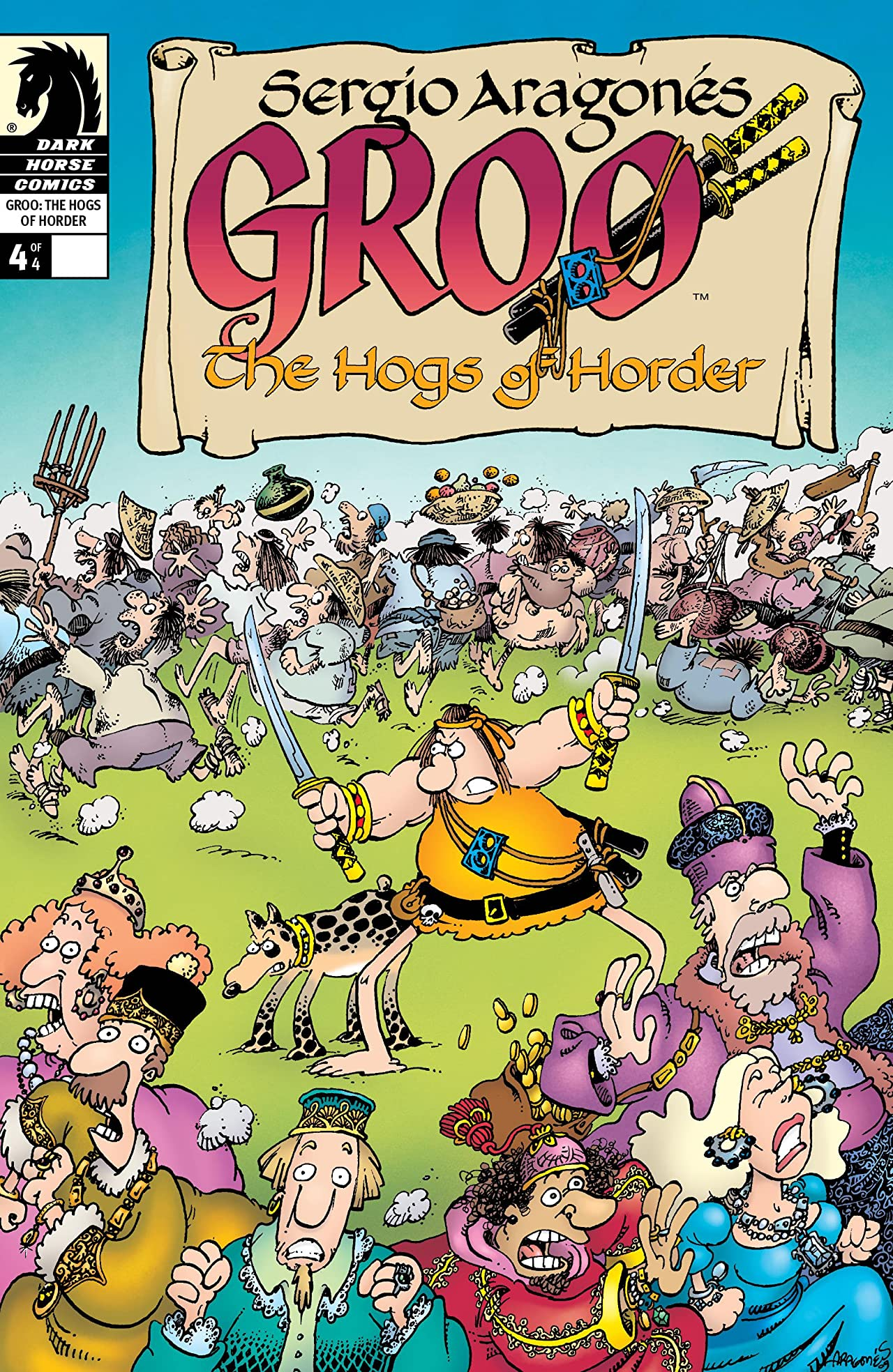 Groo: The Hogs of Horder #4