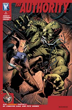 The Authority (2008-2010) #4