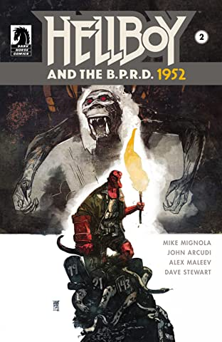 Hellboy and the B.P.R.D.: 1952 No.2