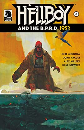 Hellboy and the B.P.R.D.: 1952 No.3
